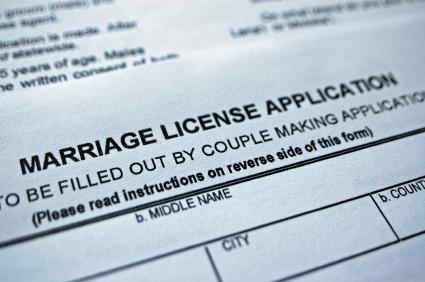 Licencia de Matrimonio