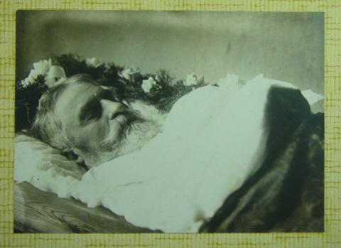 Fotografia Post-Mortem de Hombre