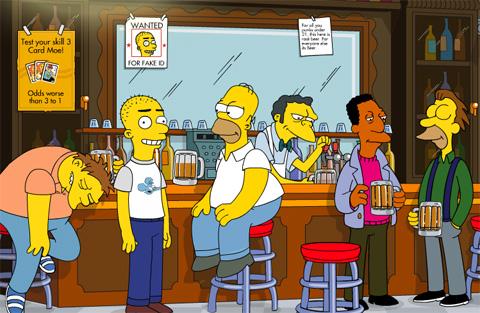 Jangueando en la Taverna de Moe