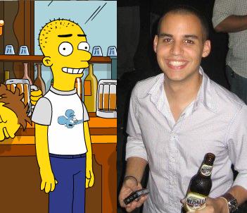 Mi personaje en los Simpsons